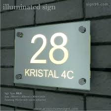 light post with address sign lighted address sign light up address signs house numbers that glow