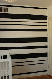 diy black white stripe wall house to home blog honestly i m no professional painter or diyer by any means so if we can do it you can too