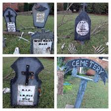 halloween headstones halloween decorations jennifer everson