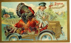 the automobile and american happy thanksgiving turkey cars