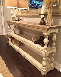 Decorating Sofa Table Behind Couch by Best 20 Extra Long Console Table Ideas On Pinterest Table