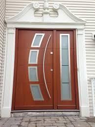 modern wooden front door design for small house wooden front door