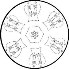 snowman juggling with snow mandala christmas coloring pages best