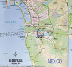 Map Of San Diego by Map Of San Diego U0026 Southwestern Usa Itm U2013 Mapscompany