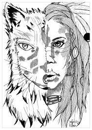 native american coloring pages for adults justcolor