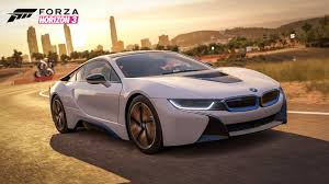 bmw i8 bmw i8 will arrive in forza horizon 3 with january u0027s car pack