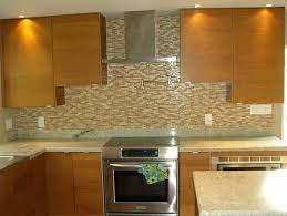 kitchen cool kitchen glass mosaic backsplash dark brown cabinet