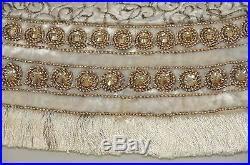 new strongwater heritage jeweled tree skirt white velvet