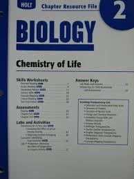 Holt Biology Worksheet Answers Holt Biology Chapter Resource File 3 P 003041363x 24 95 K