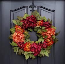 Fall Wreaths Fall Peony Wreath Fall Hydrangea Wreath Fall Autumn Wreaths