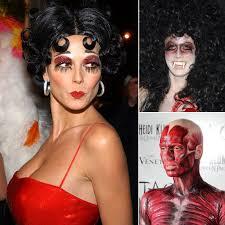 heidi klum u0027s best halloween costumes hair u0026 beauty popsugar