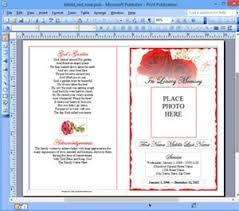publisher booklet template template example