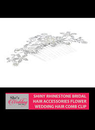 hair accessories malaysia buy bridal hair accessories malaysia shiny flower hair comb clip