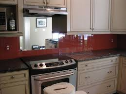 Mirrored Backsplash In Kitchen Custom Backsplash With Beautiful Color And Engaging View