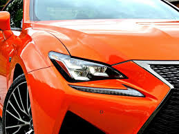 rcf lexus orange lexus rc f review the best gt car for the money mind over motor