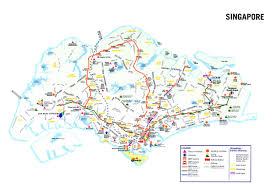 Cable Car Map Maps Of Singapore Detailed Map Of Singapore In English Tourist