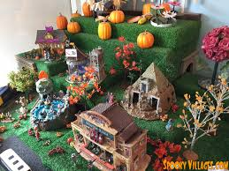 tips for your first halloween village u2013 spookyvillages com