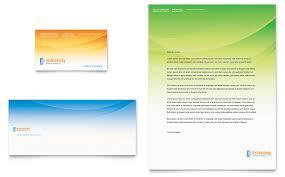 computer u0026 it services business card u0026 letterhead template word