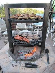 Cooking Over Fire Pit Grill - this is a hog pit made of cinder blocks projects pinterest