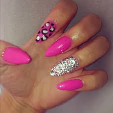 stiletto nails stiletto nails nail art acrylic nails leopard