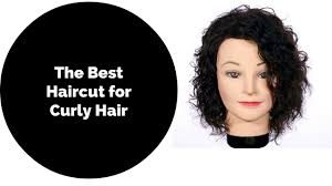 best haircut for curly frizzy hair how to haircut for curly hair thesalonguy youtube