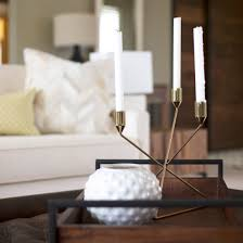 Glam Coffee Table by Sara Bates Interior Design Detail