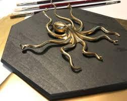octopus home decor etsy