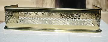 Antique Brass Fireplace Andirons by Brass Fireplace Fender Fireplace Ideas