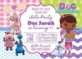 doc mcstuffins birthday doc mcstuffins digital birthday invitation creativeblueprints