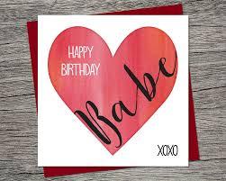 birthday card happy birthday wife birthday husband
