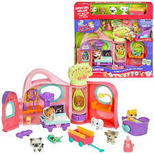 lps get better center littlest pet shop get better center bonus pack hasbro littlest
