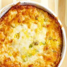 hatch chile corn pudding