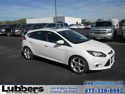 2013 ford focus titanium hatchback for sale used 2013 ford focus for sale cheney ks