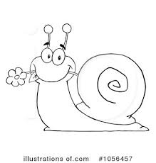 snail clipart black and white snail clipart 1056457 illustration