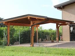 preventivo tettoia in legno coperture per auto prezzi id礬es de design d int礬rieur
