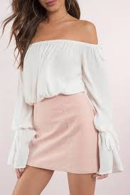 white blouses top shoulder top bell sleeve top white blouse 27