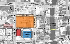 Michigan Stadium Parking Map Michigan Map by Bmo Harris Bradley Center Parking Guide Deals Maps Tips