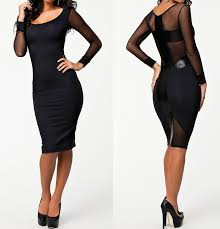 long sleeve pencil dresses for women ivo hoogveld