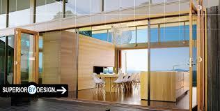 Folding Sliding Patio Doors Stunning Folding Glass Doors Exterior Images Interior Design
