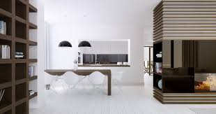 Modern White Dining Room Table 20 Modern Dining Rooms For Inspiration