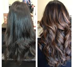 subtle vs striking the difference between ombré and balayage