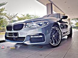 custom white bmw custom builds hre forged s101 equipped on the bmw g30 5 series