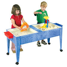 sand and water table with lid double tray sand water table