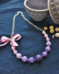 beads necklace tutorial images Diy jewelry tutorial how to handpaint beads to make a colorful jpg