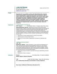 exles of teachers resumes business resume in nj sales lewesmr