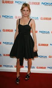 miller dresses in 2007 miller matched black sandals to a summery black