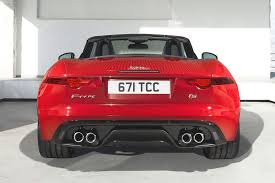 jaguar back new jaguar f type roadster pictures and details video autotribute