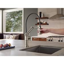 touch kitchen faucet reviews kitchen brizo kitchen faucet reviews artesso articulating litze