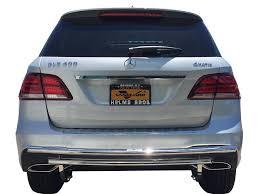 nissan rogue rear bumper 16 17 benz gle350 w166 rear bumper protector grill guard double