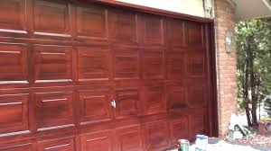 flaux painting mahogany garage door youtube flaux painting mahogany garage door